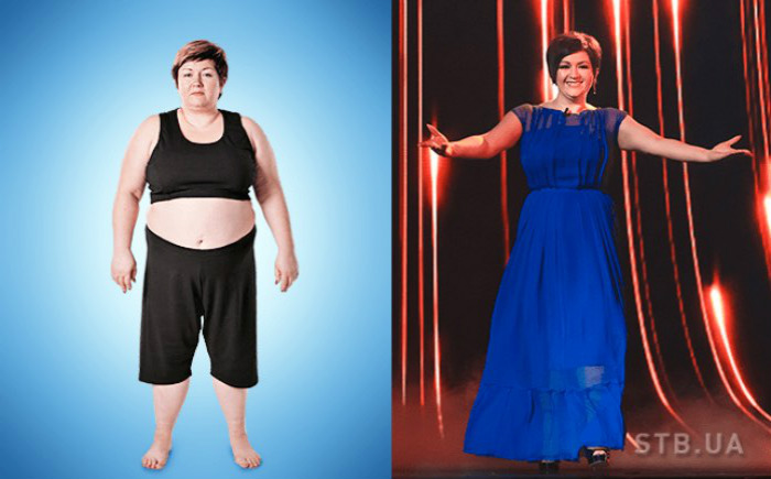 Шоу До И После Похудения.