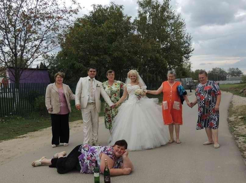12 горяченьких свадеб в сельском духе